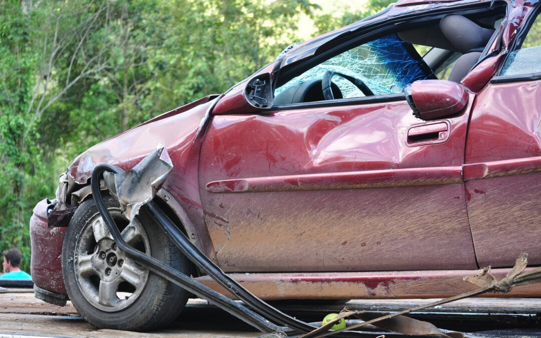 What do you do when you are involved in a car crash?